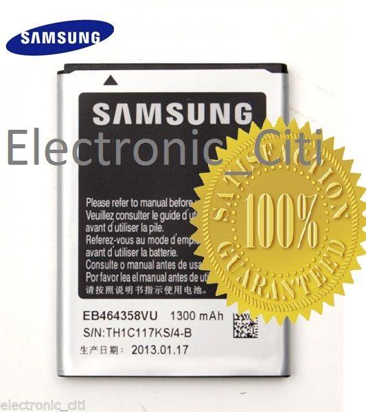 ORIGINAL EB464358VU BATTERY FOR SAMSUNG GALAXY ACE S7500 S6802 S6102